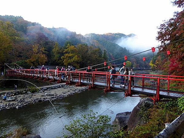 香嵐渓 香嵐橋