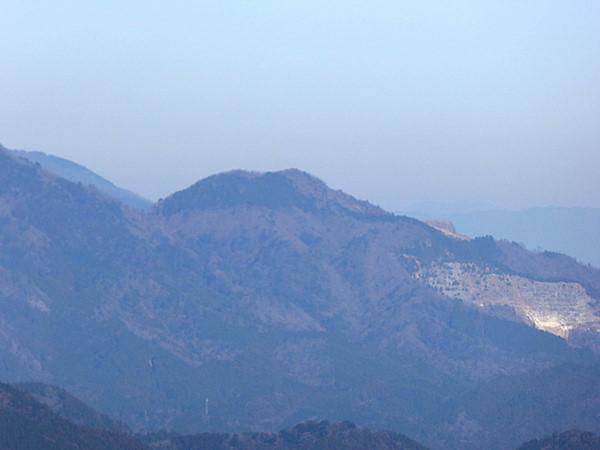 錫杖ヶ岳 山頂からの眺め 藤原岳