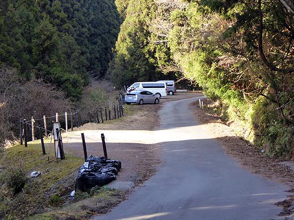 錫杖ヶ岳 加太ルート 駐車場