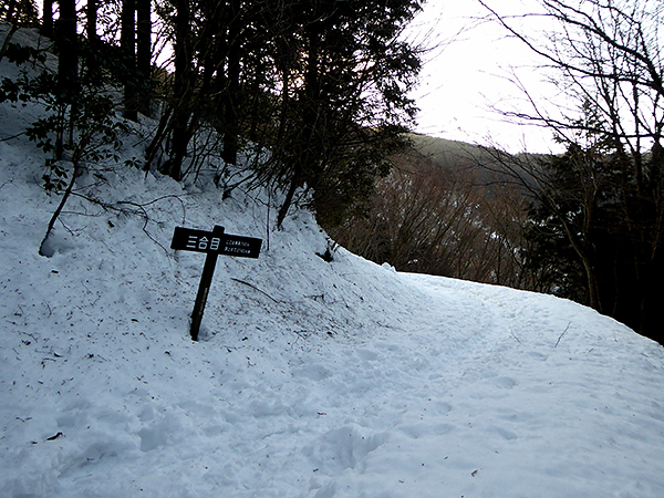 綿向山 表参道コース