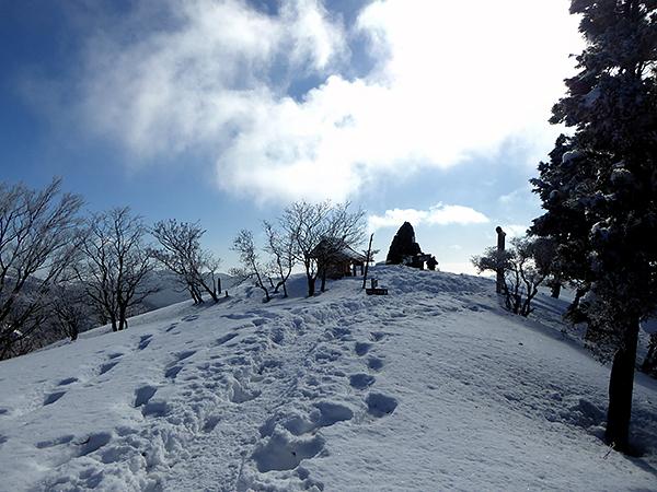 綿向山 山頂