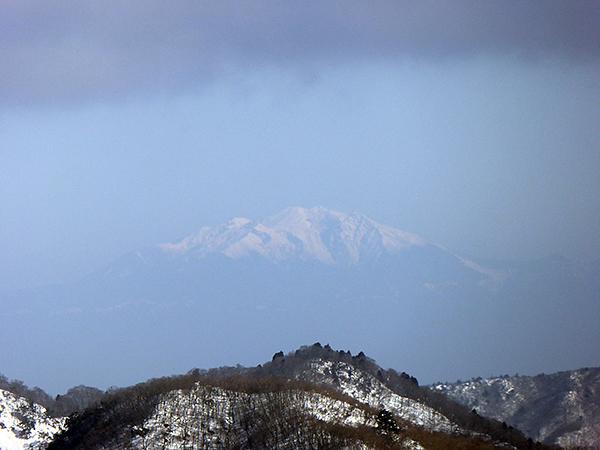 綿向山 山頂からの眺め 御嶽山