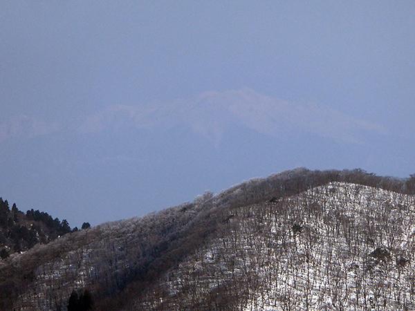 綿向山 山頂からの眺め 乗鞍岳