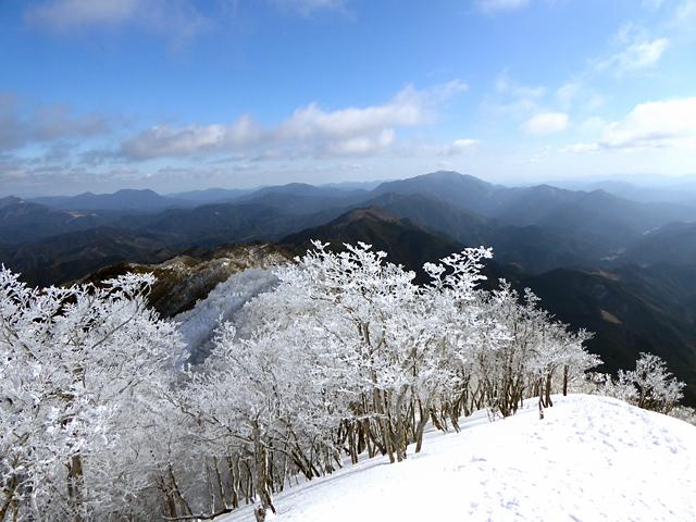 高見山 山頂からの眺め