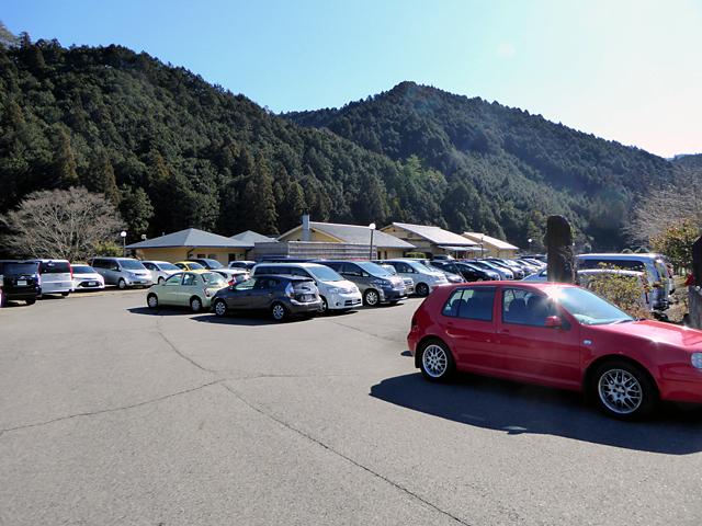 高見山 平野登山道 たかすみの里 駐車場