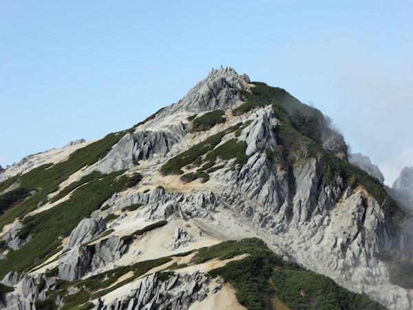 燕岳 燕山荘